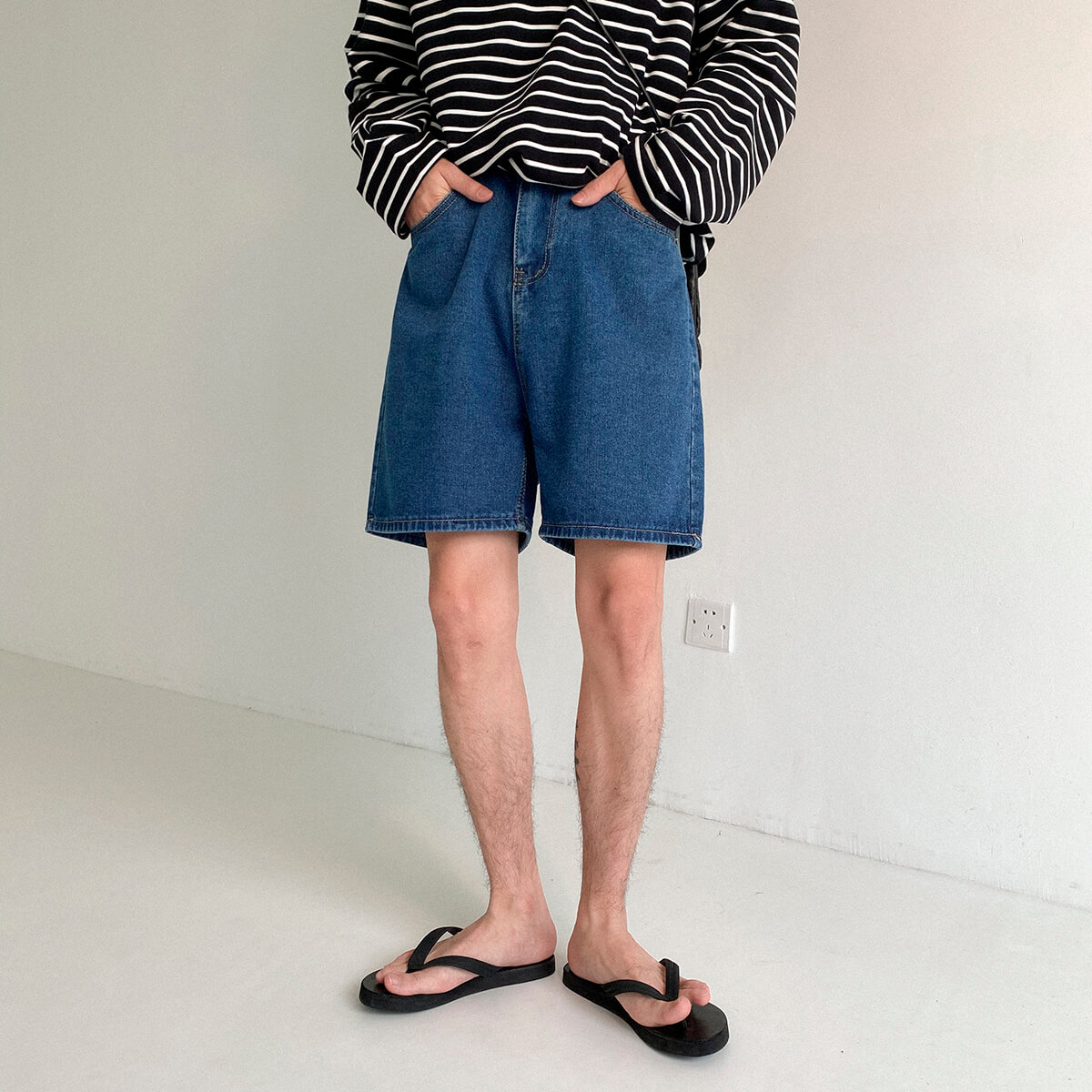 Шорты DAZO Studio Basic Denim Shorts (1)