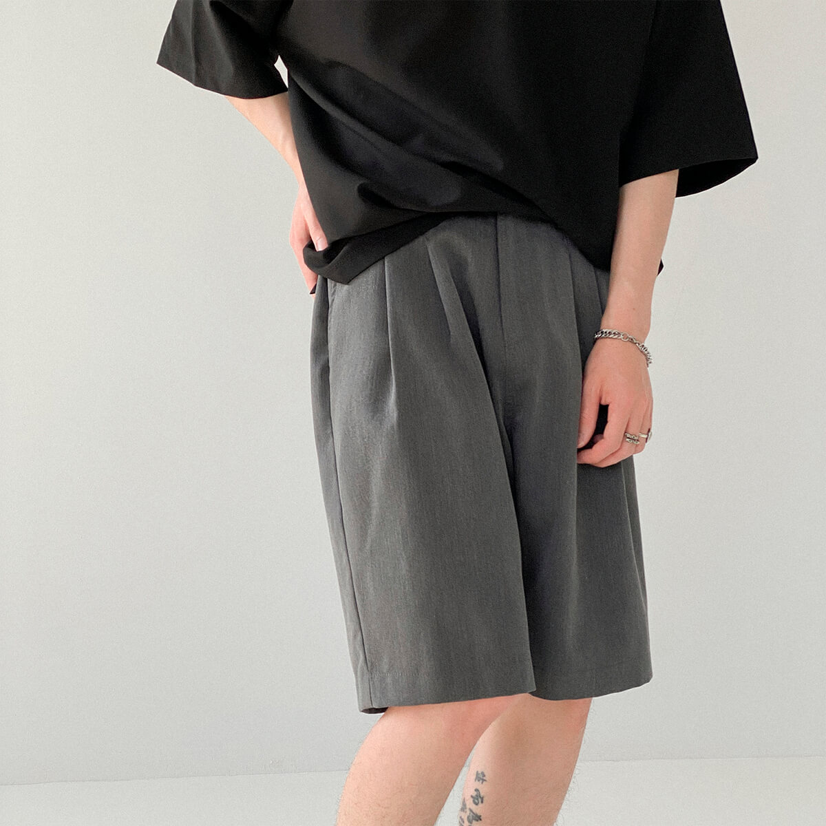 Шорты DAZO Studio Basic Draped Shorts (1)