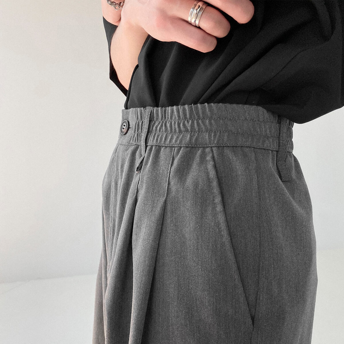 Шорты DAZO Studio Basic Draped Shorts (2)