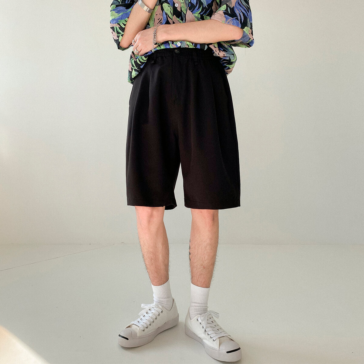 Шорты DAZO Studio Basic Draped Shorts (6)