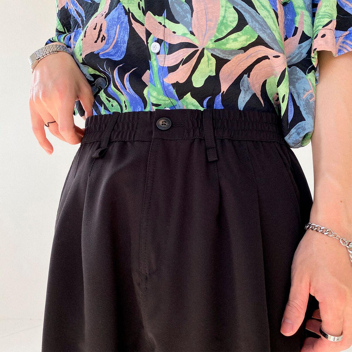 Шорты DAZO Studio Basic Draped Shorts (7)