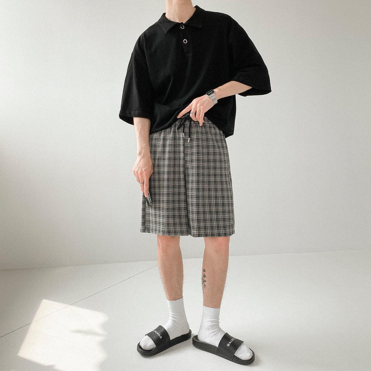 Шорты DAZO Studio Shatland Check Shorts (2)