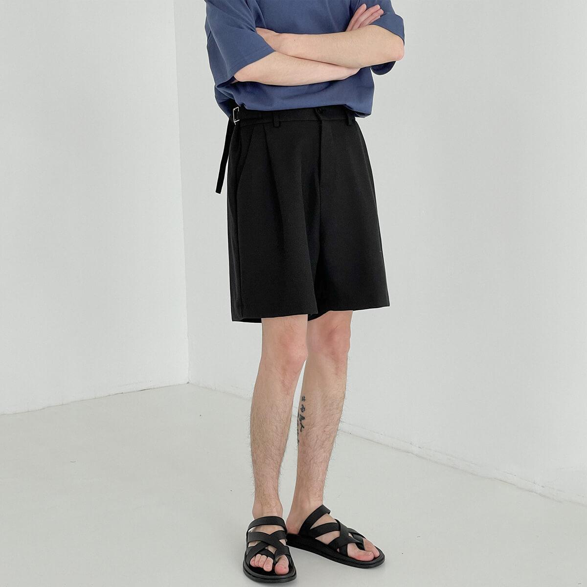 Шорты DAZO Studio Suit Shorts With Fabric Belt (1)