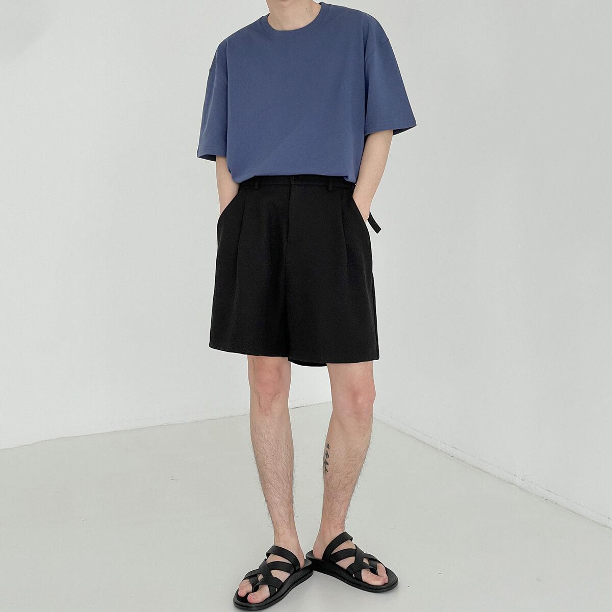 Шорты DAZO Studio Suit Shorts With Fabric Belt (2)