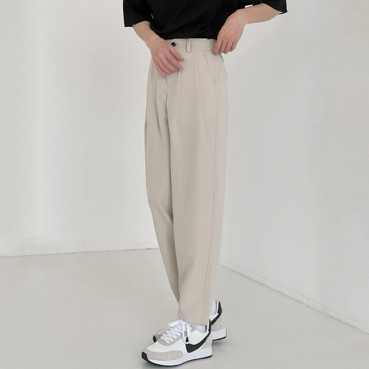 DAZO Studio Solid Color Minimalist Pants (2)