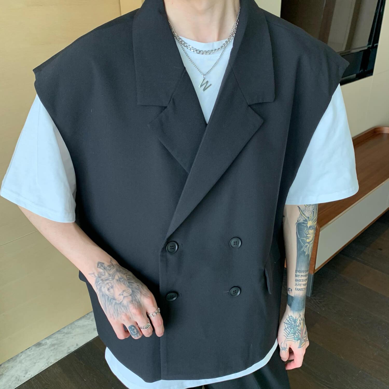 Блейзер-жилет Cui Layout Studio Double Breasted Blazer Vest (6)