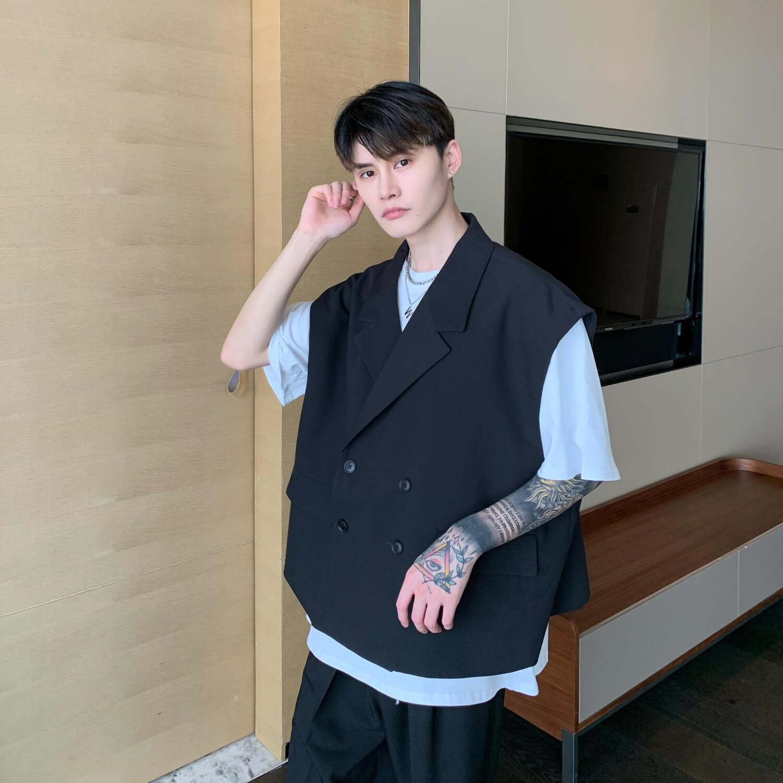 Блейзер-жилет Cui Layout Studio Double Breasted Blazer Vest (7)