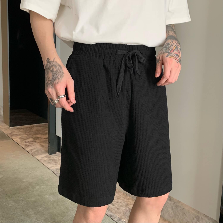 Шорты Cui Layout Studio Waffle Suit Shirt & Shorts (4)
