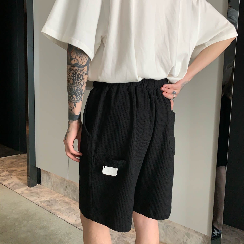 Шорты Cui Layout Studio Waffle Suit Shirt & Shorts (5)