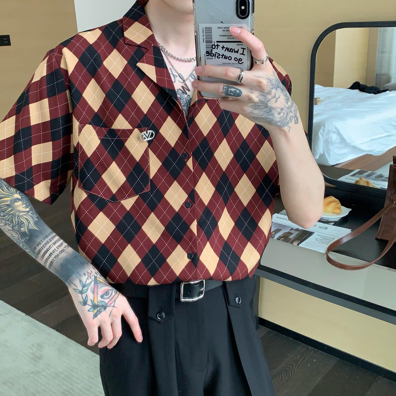 Рубашка Cui Layout Studio Rhombus Formal Shirt (1)