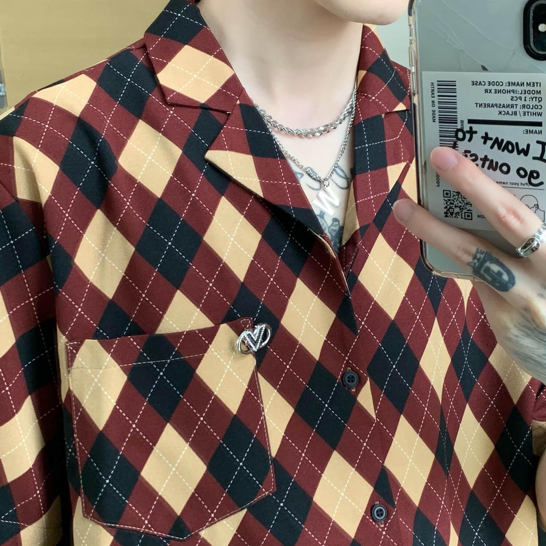 Рубашка Cui Layout Studio Rhombus Formal Shirt (2)