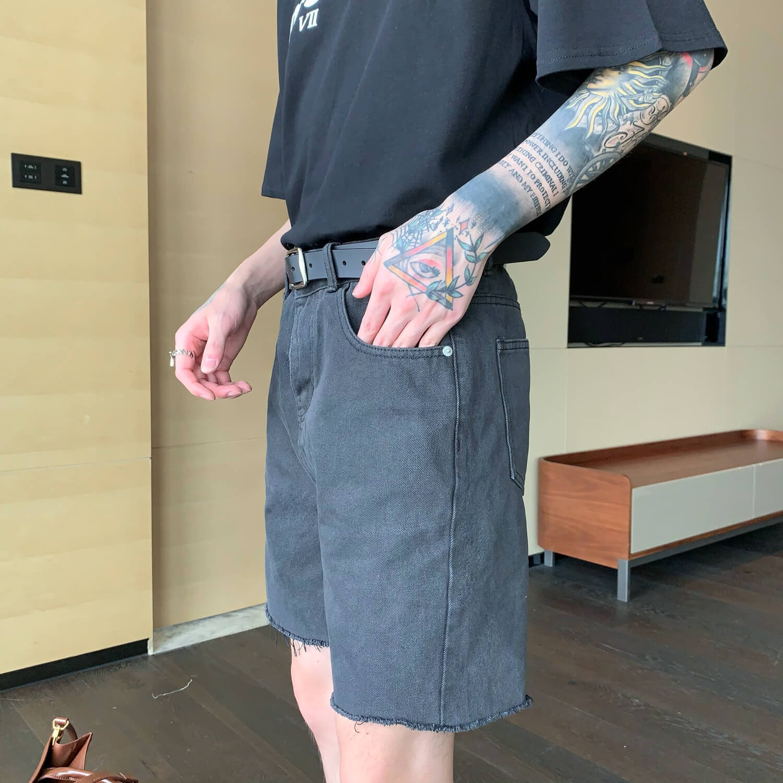 Шорты Cui Layout Studio Ripped Shorts (2)