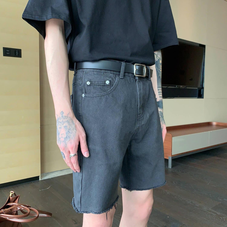 Шорты Cui Layout Studio Ripped Shorts (3)