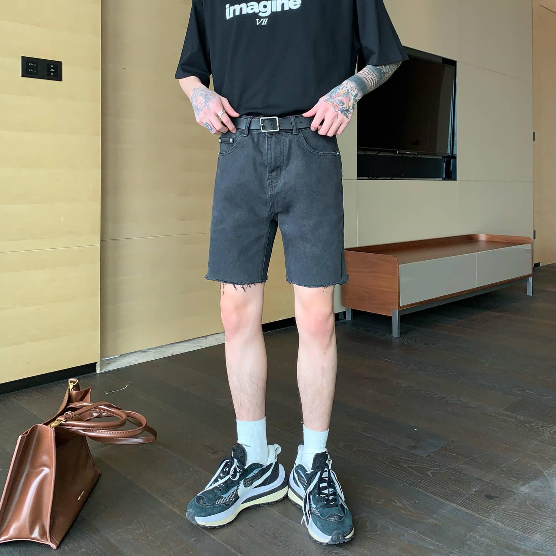 Шорты Cui Layout Studio Ripped Shorts (4)