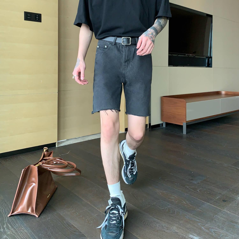 Шорты Cui Layout Studio Ripped Shorts (7)