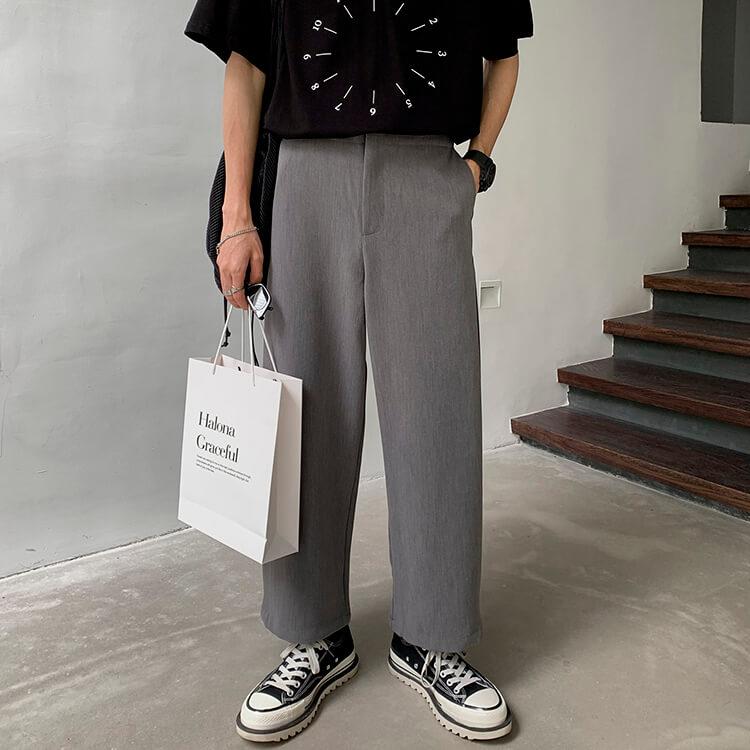 Брюки Attitude Studio Side Slit Designer Pants (4)