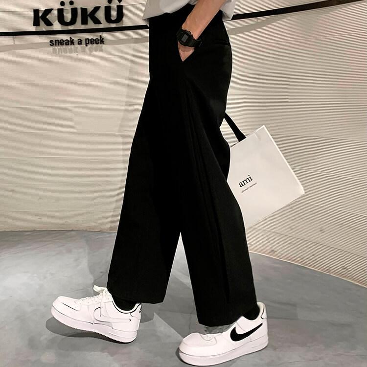 Брюки Attitude Studio Side Slit Designer Pants (7)