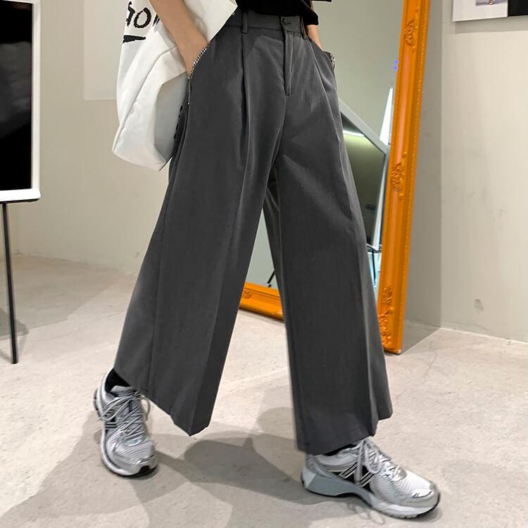 Брюки Attitude Studio Solid Color Extra Wide Leg Pants (1)