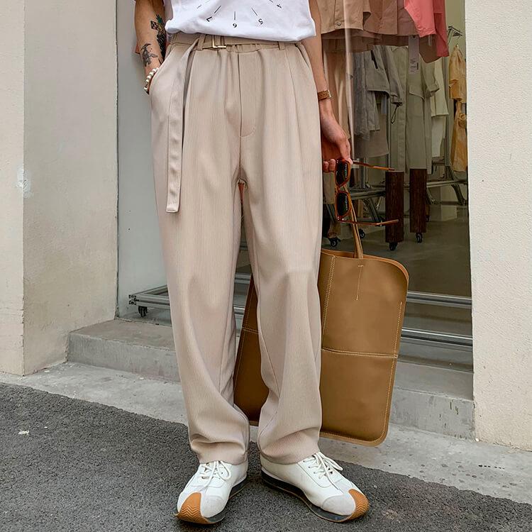 Брюки Attitude Studio Vertical Polyester Pants (1)
