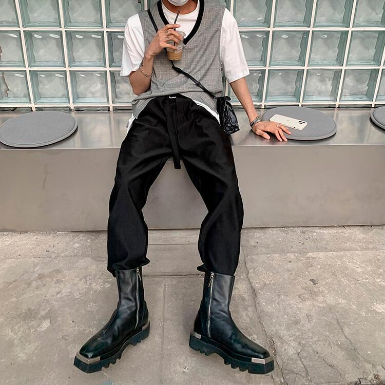 Брюки Attitude Studio Vertical Polyester Pants (15)