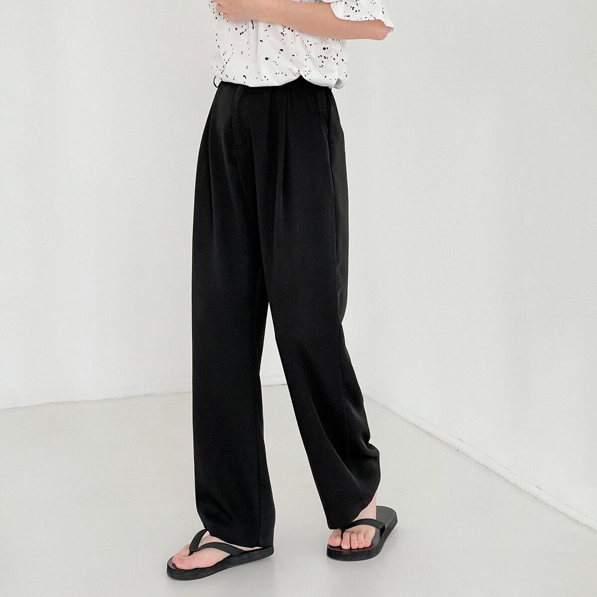 Брюки DAZO Studio Wide Leg Draped Casual Pants (1)