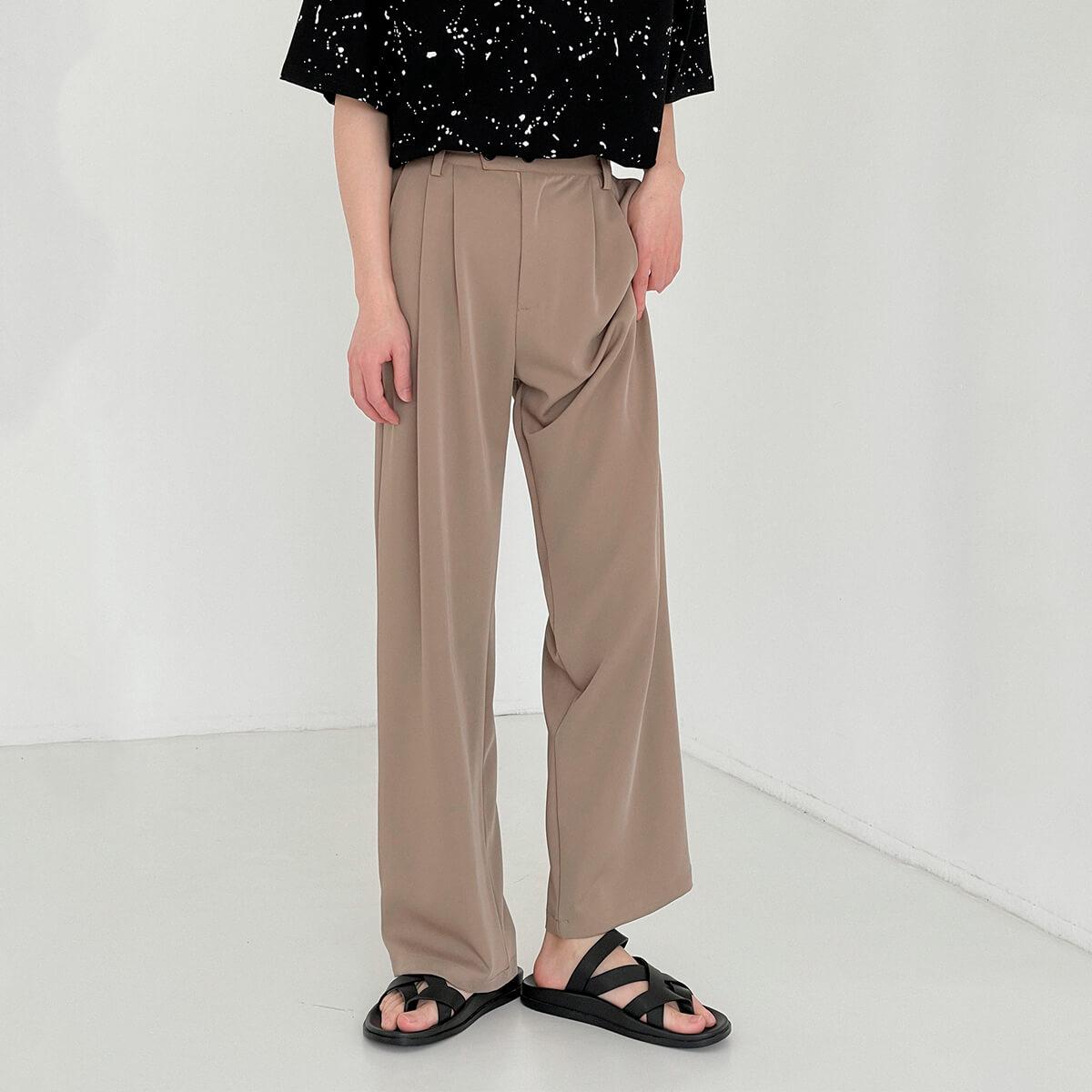 Брюки DAZO Studio Wide Leg Draped Casual Pants (11)