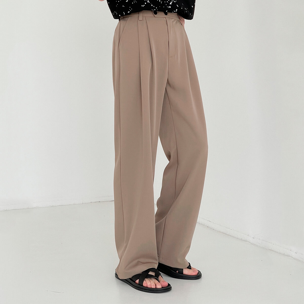 Брюки DAZO Studio Wide Leg Draped Casual Pants (12)