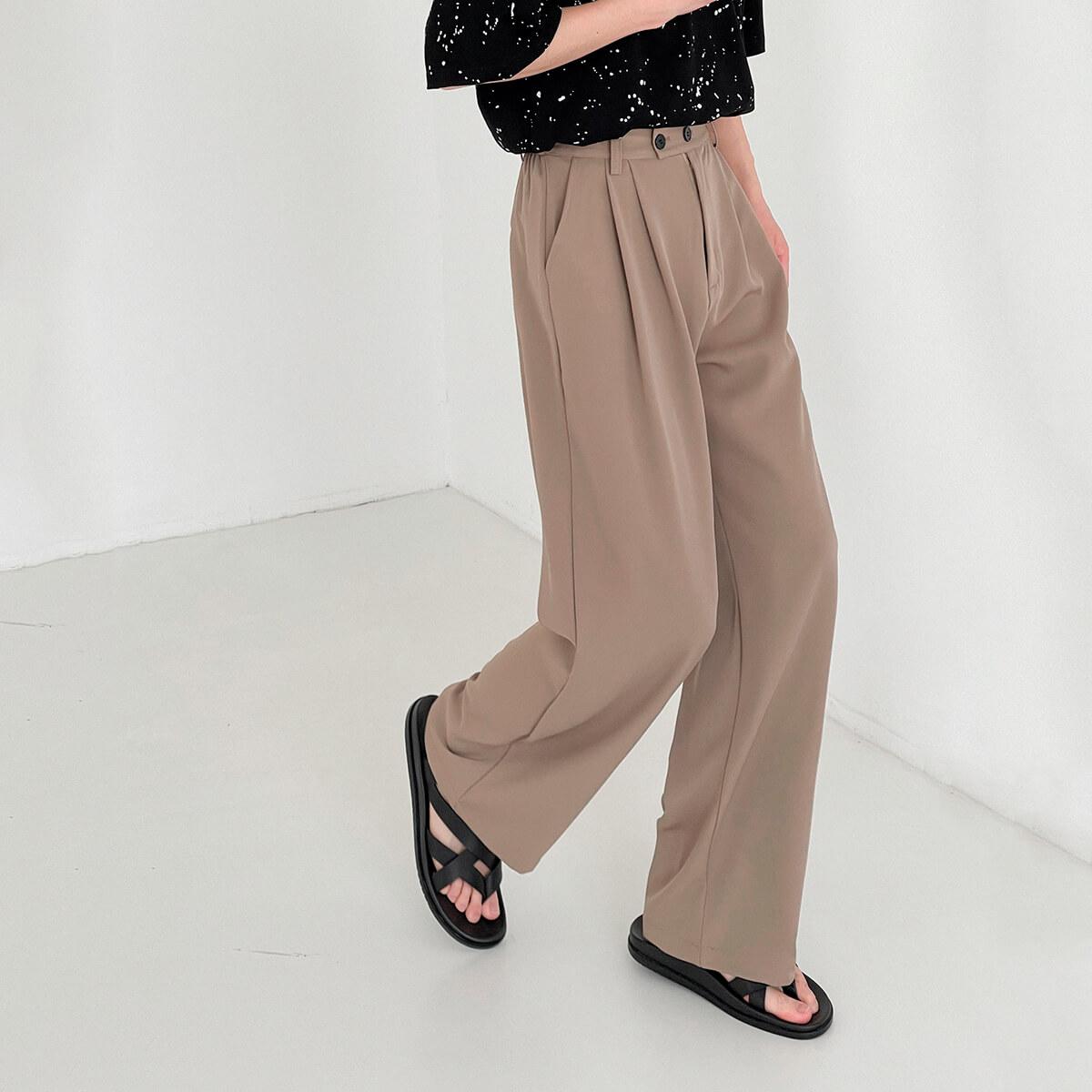 Брюки DAZO Studio Wide Leg Draped Casual Pants (14)