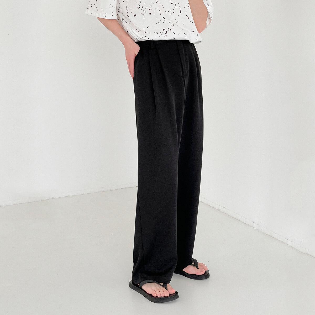Брюки DAZO Studio Wide Leg Draped Casual Pants (2)