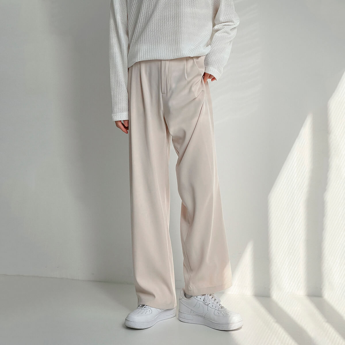 Брюки DAZO Studio Wide Leg Draped Casual Pants (6)