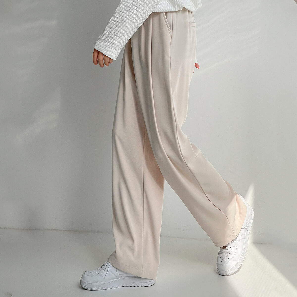 Брюки DAZO Studio Wide Leg Draped Casual Pants (7)