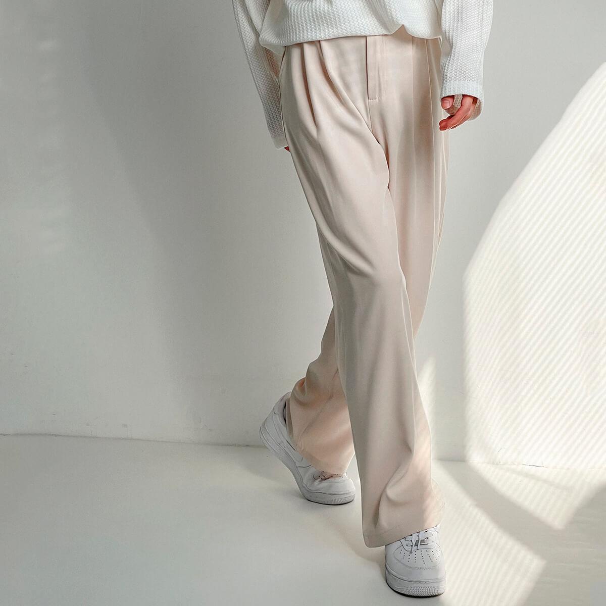 Брюки DAZO Studio Wide Leg Draped Casual Pants (9)