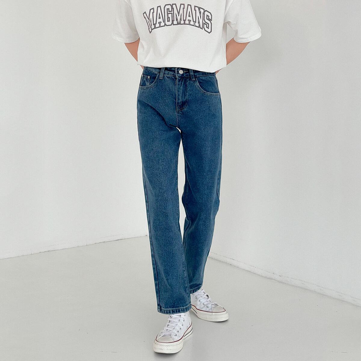 Джинсы DAZO Studio Basic Saturated Straight Jeans (1)