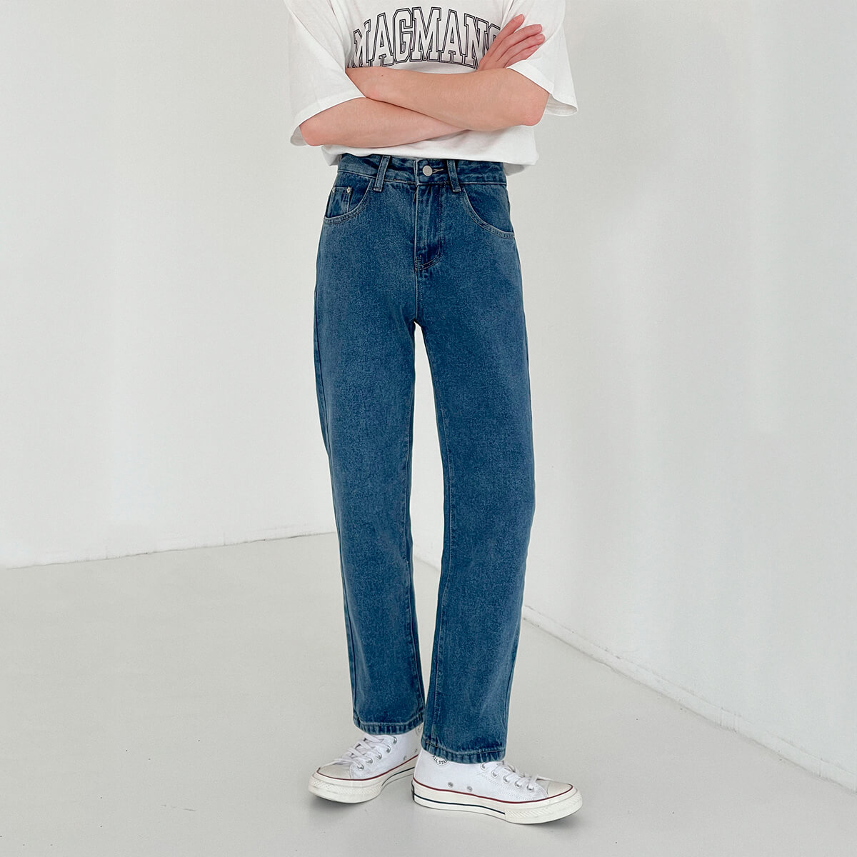 Джинсы DAZO Studio Basic Saturated Straight Jeans (2)