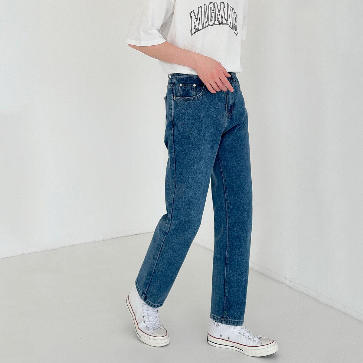 Джинсы DAZO Studio Basic Saturated Straight Jeans (3)