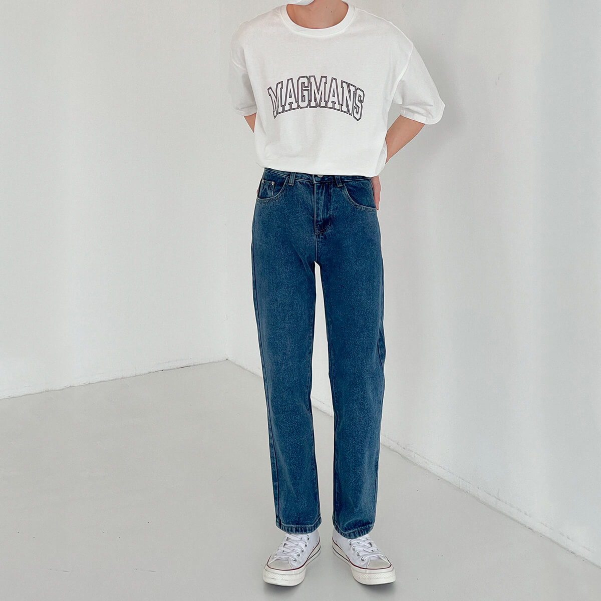 Джинсы DAZO Studio Basic Saturated Straight Jeans (4)