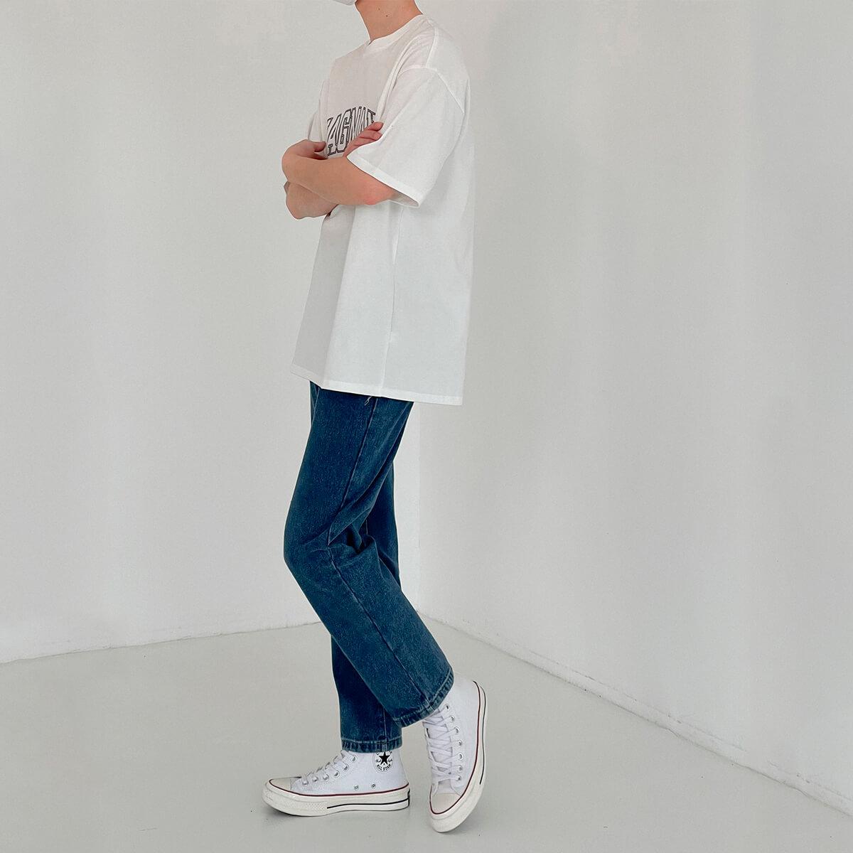 Джинсы DAZO Studio Basic Saturated Straight Jeans (5)