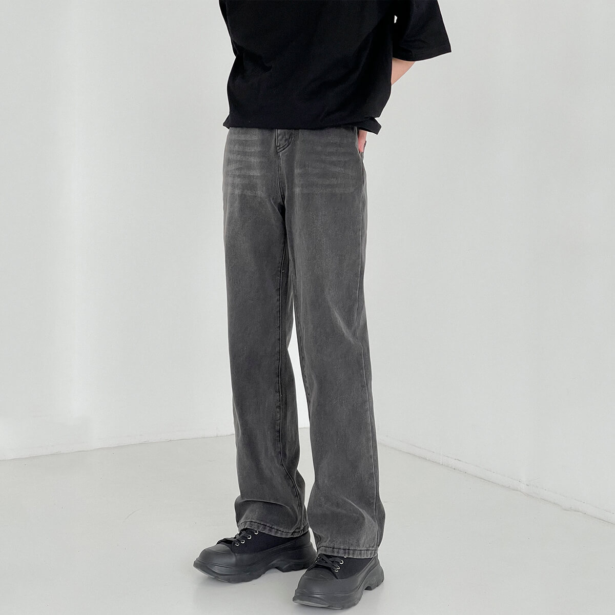 Джинсы DAZO Studio Loose Washed Jeans (1)