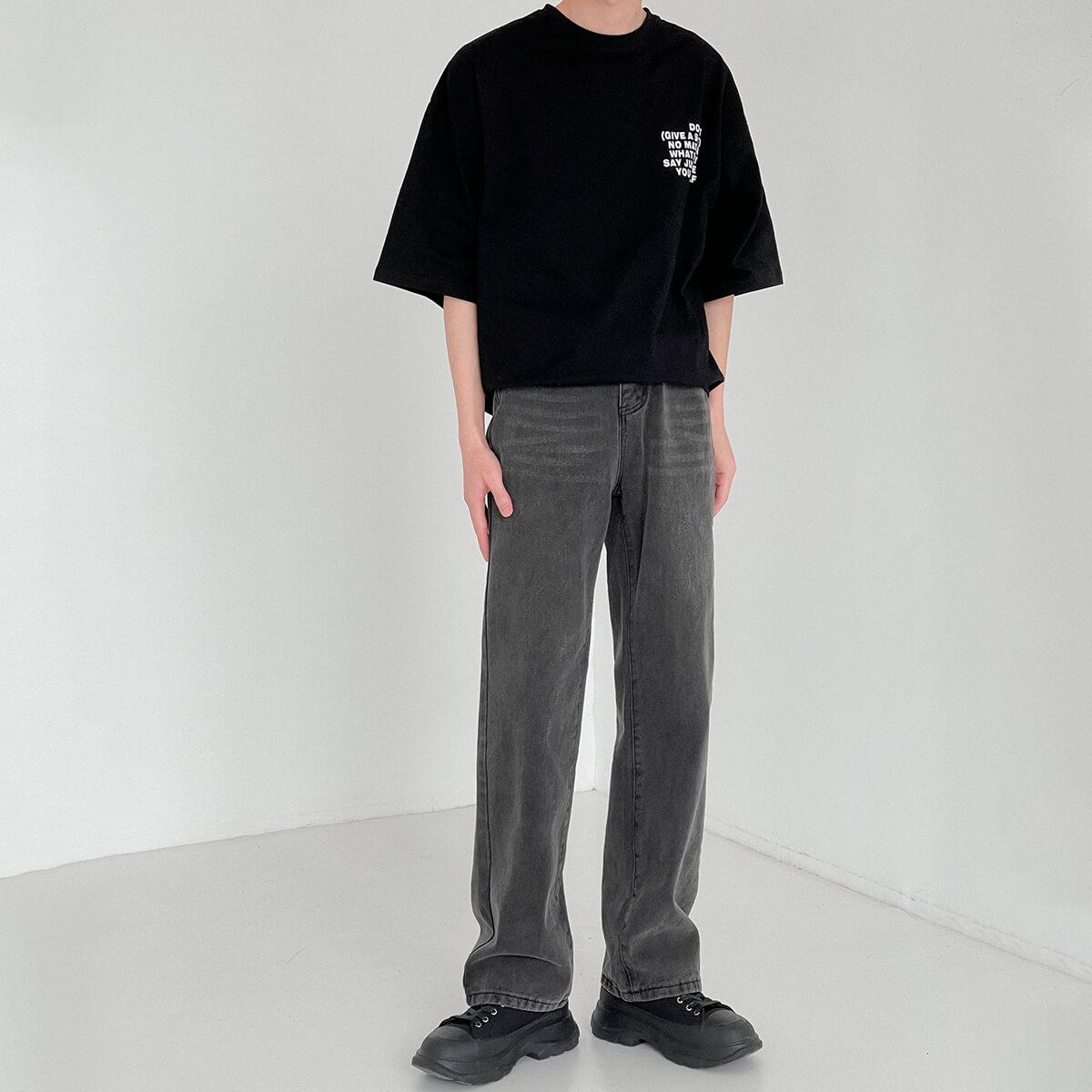 Джинсы DAZO Studio Loose Washed Jeans (4)