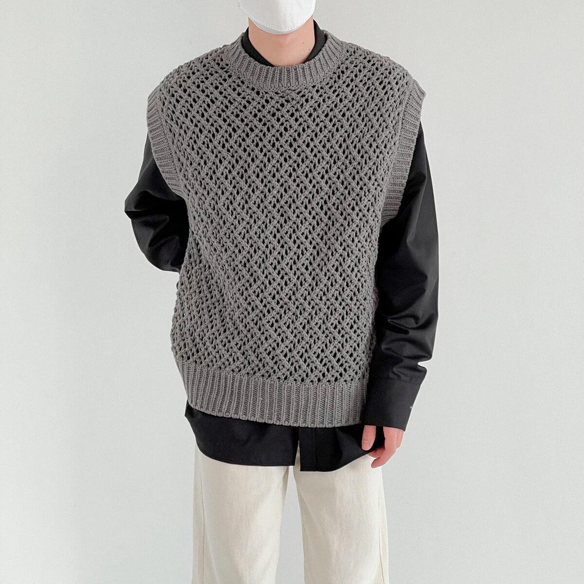 Жилет DAZO Studio Large Knit Vest (1)