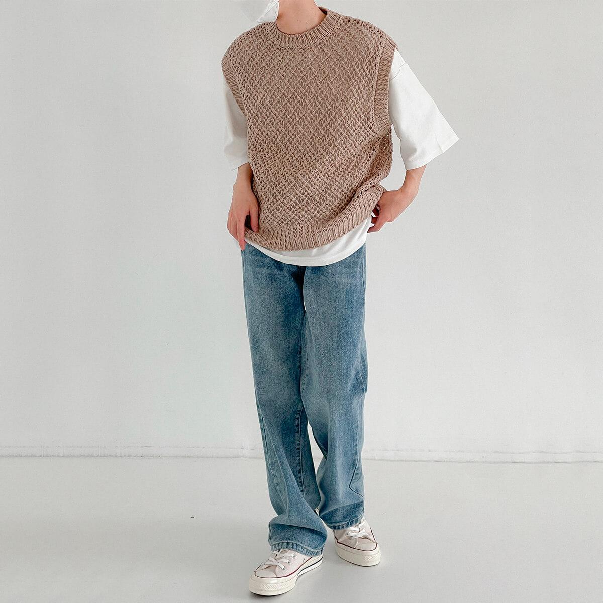 Жилет DAZO Studio Large Knit Vest (10)
