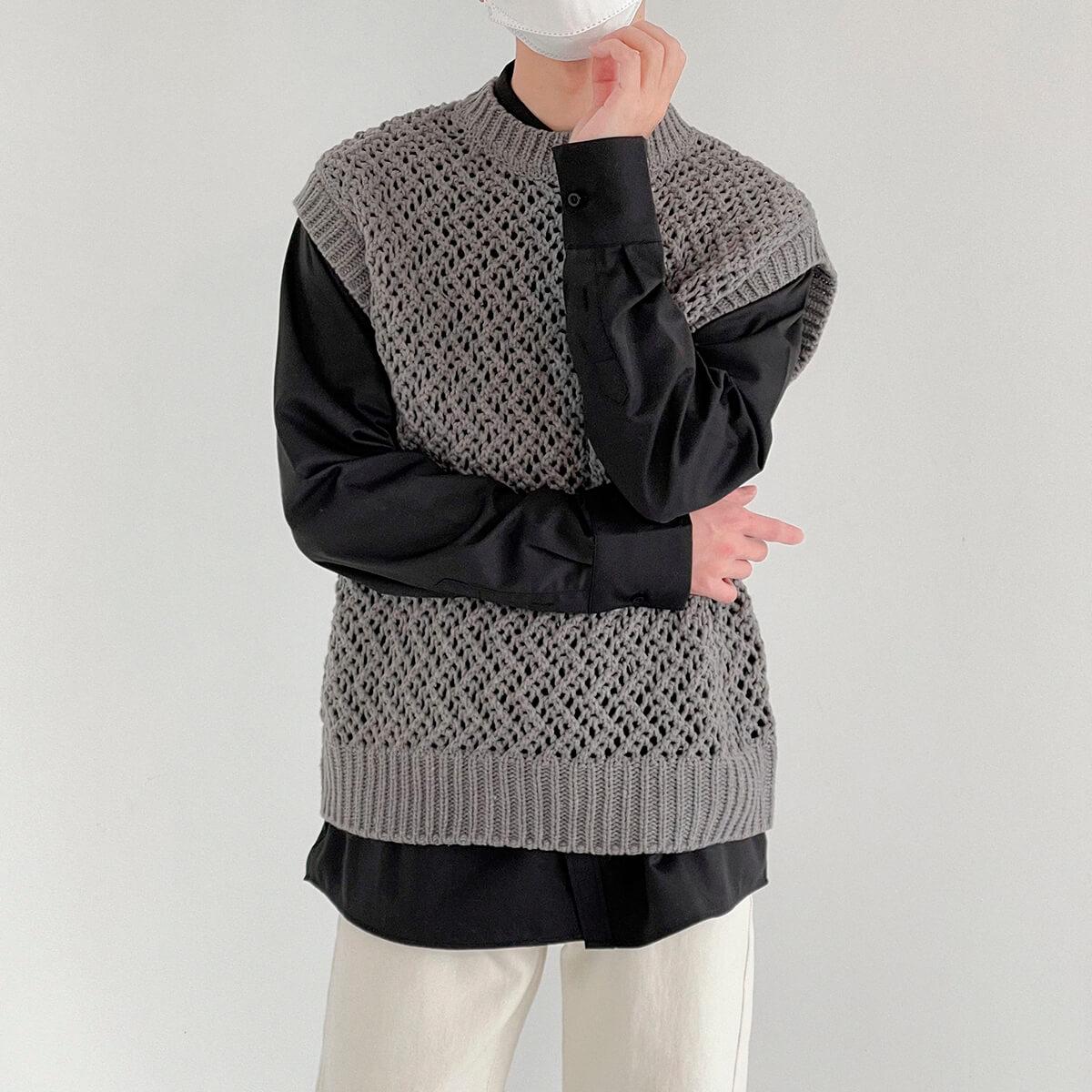 Жилет DAZO Studio Large Knit Vest (2)