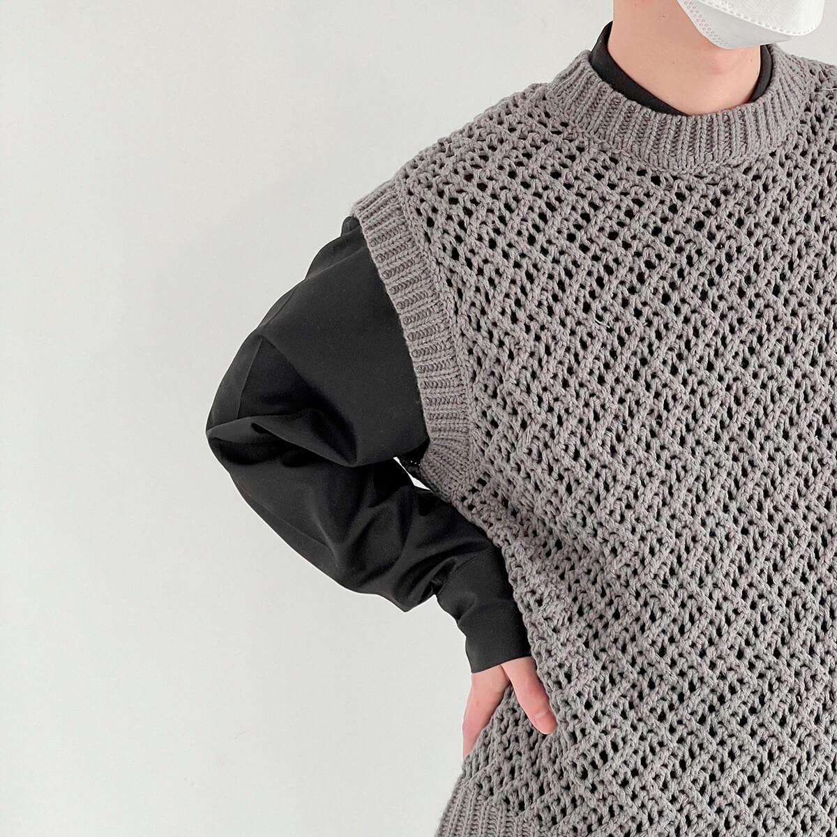 Жилет DAZO Studio Large Knit Vest (3)