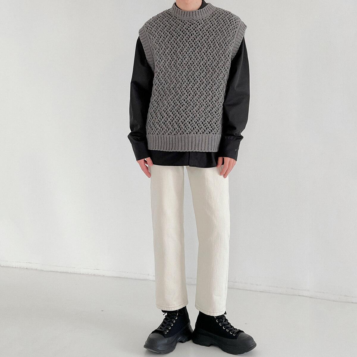 Жилет DAZO Studio Large Knit Vest (4)