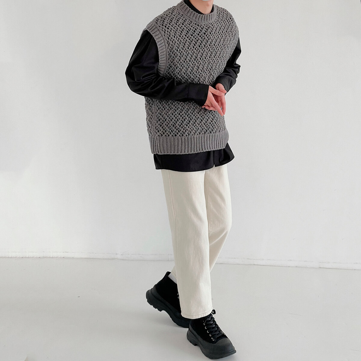 Жилет DAZO Studio Large Knit Vest (5)