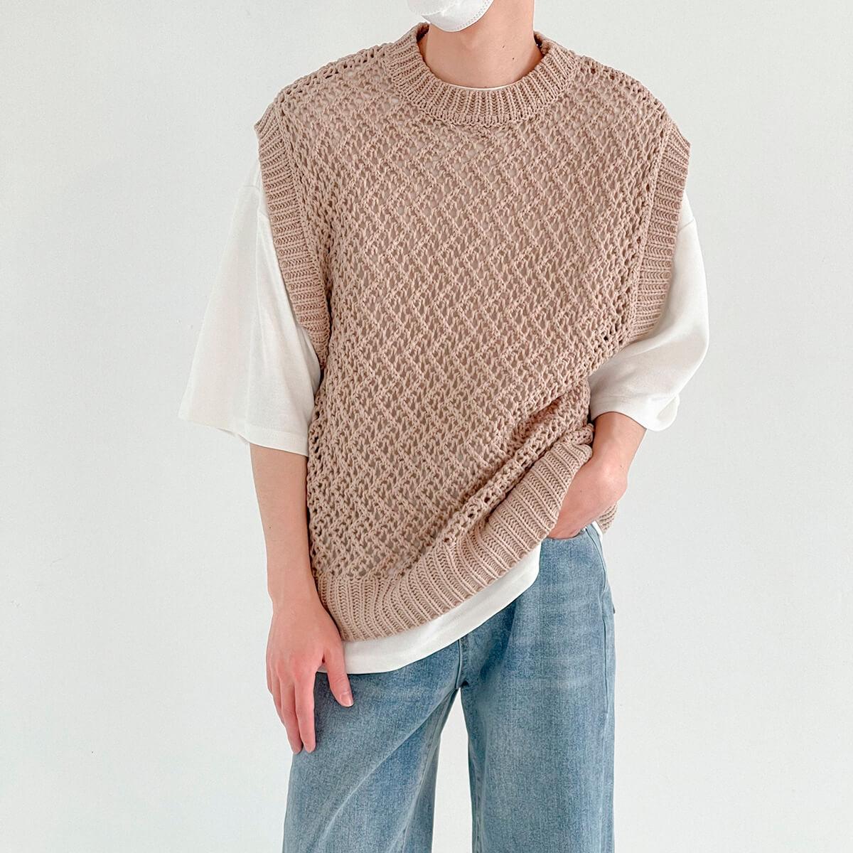 Жилет DAZO Studio Large Knit Vest (6)