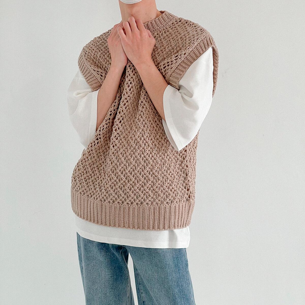 Жилет DAZO Studio Large Knit Vest (7)