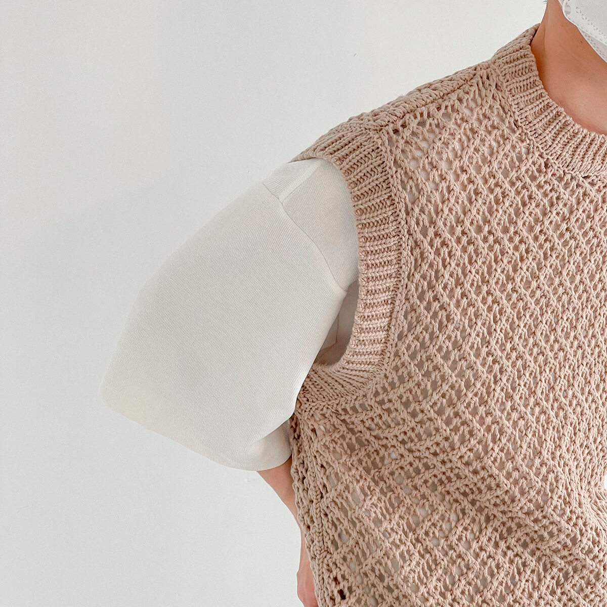 Жилет DAZO Studio Large Knit Vest (8)