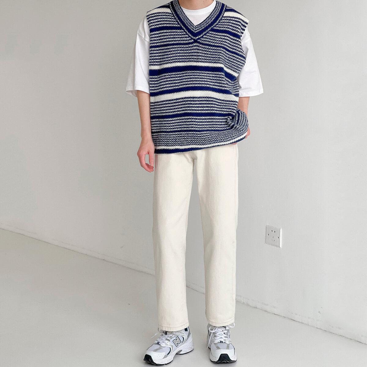 Жилет DAZO Studio Striped Knit Vest (10)