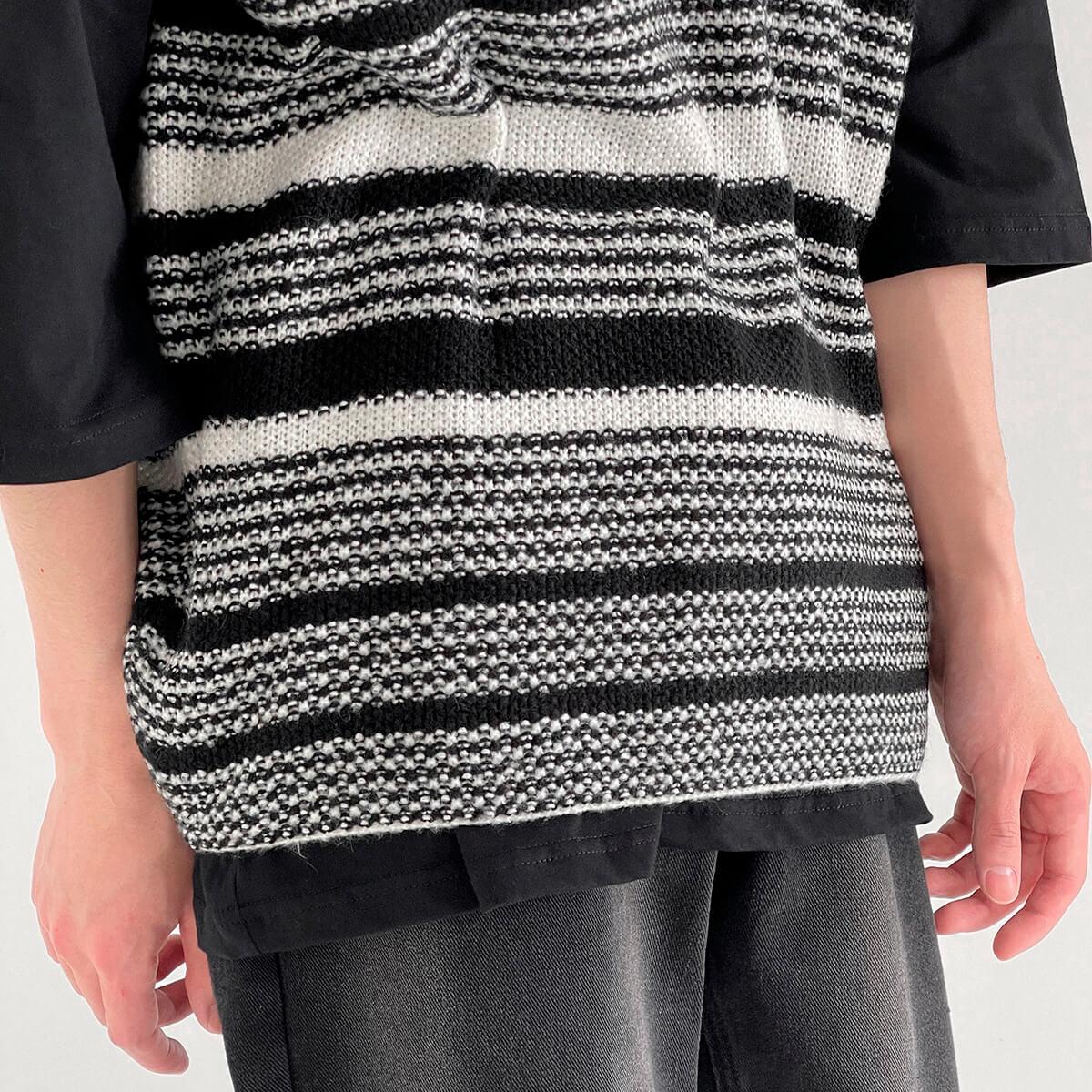 Жилет DAZO Studio Striped Knit Vest (3)